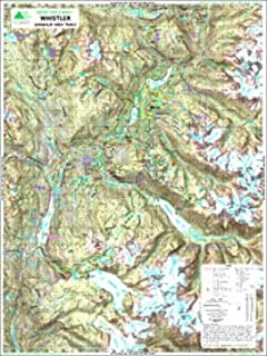 whistler topographic map