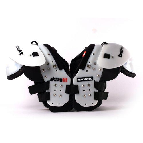 BARNETT Vision III American Football Schulterschutz, sehr leicht, Gr M, Farbe schwarz