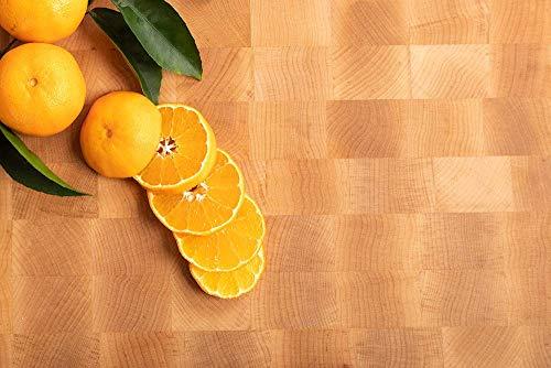 MTM WOOD Tablas de Cortar Cocina de Madera Abedul, Tablas de Picar de Tamaño Diferente y de Espesor 3 y 4 cm, Ideal para...