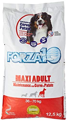 Forza 10 Maxi Adult Maintenance Cervo alimento Cane Secco Premium Sacchetto, Multicolore, Unica