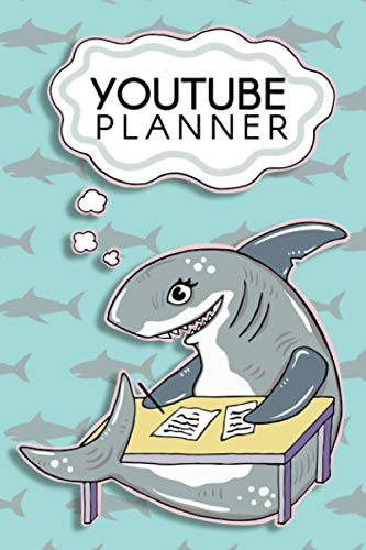 Youtube Planner: Storyboard Notebook/ Content Creator Planner/ 120 Page Youtuber Books/ Journal for Moodboards, Descriptions, Notes and Storyboarding Videos