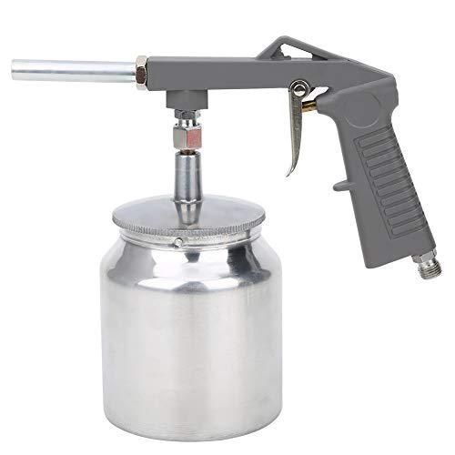 Pistola de pulverización neumática fácil de usar, patrones de pulverización de 750 ml, aleación de aluminio hecha para pulverización de pared de automóviles Ps‑6 30‑120psi