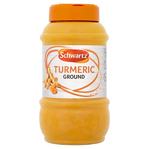 Schwartz Ground Turmeric, Spices for Indian Curry Sauce and Caribbean Seasoning, 0.38 kg