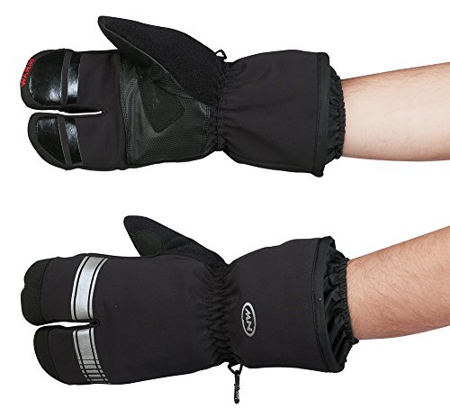 Northwave Husky Lobster Winter Fahrrad Handschuhe schwarz 2021: Größe: XL (10)