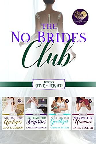 The No Brides Club, Books 5-8 (English Edition)