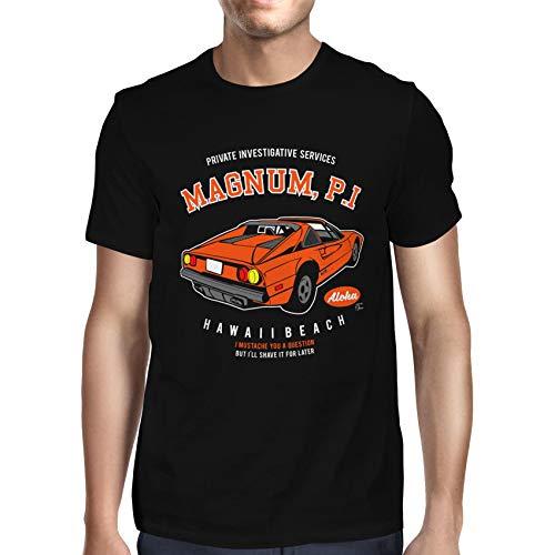 Men's Magnum P.I. Ferrari 308 Official T-shirt, S to 5XL