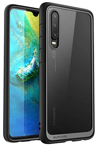 SUPCASE Funda Huawei P30, [Unicorn Beelte Style] Carcasa de Proteccion híbrida de Primera Calidad para Huawei P30 2019 (Negro)