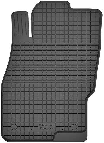 KO-RUBBERMAT 1 Stück Gummimatte Fußmatte Fahrer geeignet zur OPEL Corsa D, E (Bj. 2006-2019) ideal angepasst