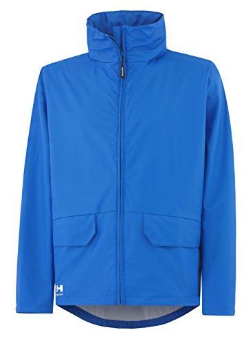 Helly Hansen Workwear Regenjacke wasserdicht Voss Jacket, Blau, 70214, L