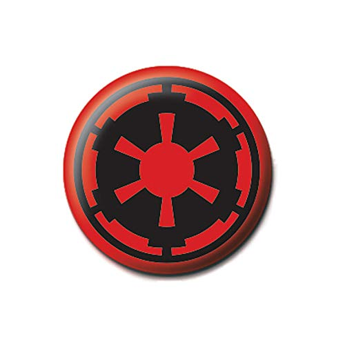 Echtes Star Wars Empire-Symbol, Anstecknadel.