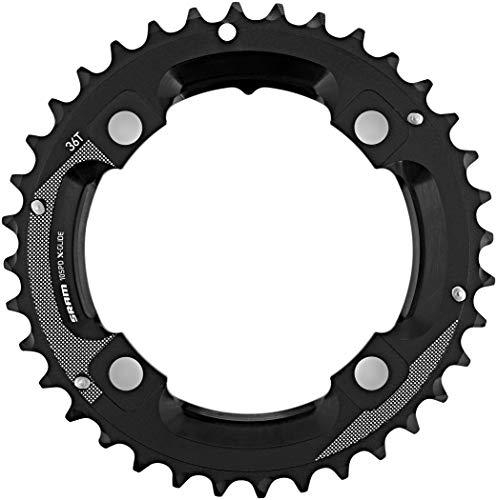SRAM MTB 36T, LK: 104mm, Aluminio, 2Tone 2x 10, M de Pin (GX), 11.6218.035.000Cadena Hojas, Negro, Estándar