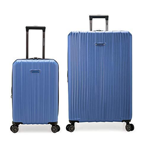 Traveler's Choice Dana Point Hardside Expandable Luggage Set, Blue, 2-Piece