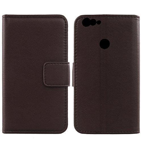 Gukas Design Echt Leder Tasche Für BluBoo Dual 5.5