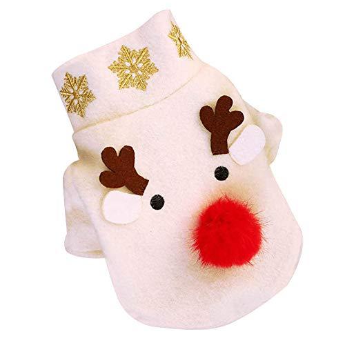Ningb hond trui kerst Elk gevormde coltrui huisdieren trui kleding herfst winter hond dikke wollen jas