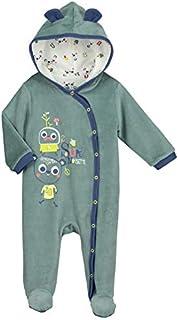 a0b881d385998 Surpyjama bébé velours Supernoisette - Taille - 9 mois (74 cm)