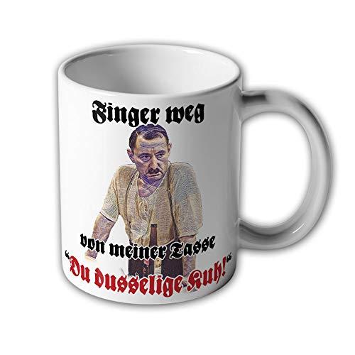 Finger weg von meiner Tasse Du dusselige Kuh!-Alfred Tetzlaff - Tasse #10413