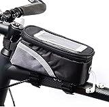 Bolsa De Manillar De Ciclismo para Bicicleta, Bolsa De Tubo Superior Frontal con Marco, Bolsa Protectora De Pantalla Táctil Impermeable para Bicicleta, para Teléfonos Inteligentes por Debajo De 7.0