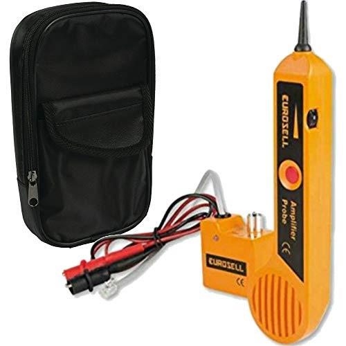 Eurosell Leitungssuchgerät Leitungssucher Leitungsfinder Detektor Kabel Leitung leitungs Prüfer Finger Sucher Suchgerät Prüfgerät Prüfen