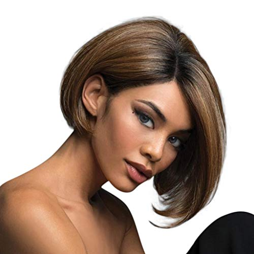 UMei Hair Wigs for Women Party Synthetic Natural Short Bob Cosplay Fashion Female Hair Wigs US Stock