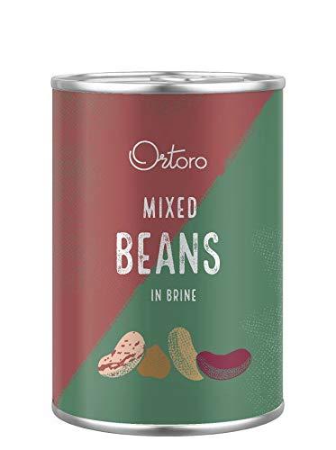 Ortoro - Gemischte Bohnen, 400g (12er-Pack)