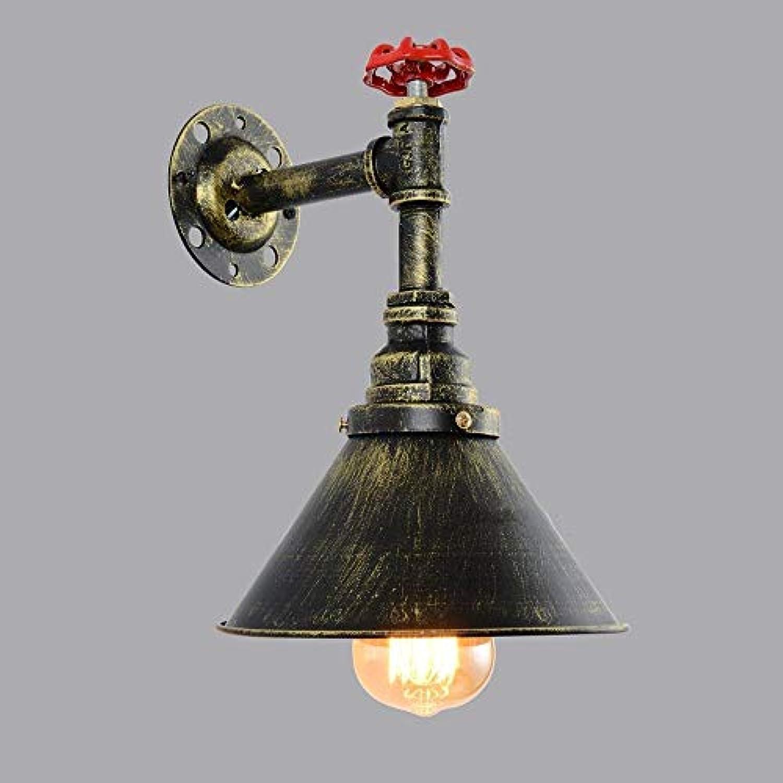 Hdmy Edison Lichtquellen Vintage Retro Lange Lebensdauer Wasserleitung Rustikale Steampunk Dekorative Beleuchtung Einzelkopf Wandleuchte Mit Ventil Bronze Für Bar Kitchen