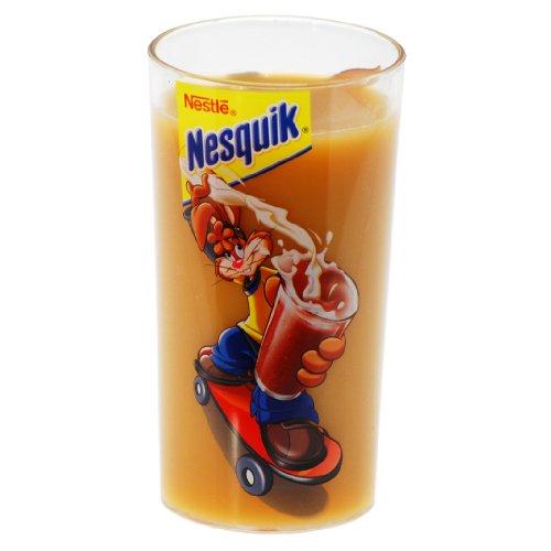 Nestle Nesquik Kakaobecher Trinkbecher Becher Hase Skateboard Kunststoff 350 ml