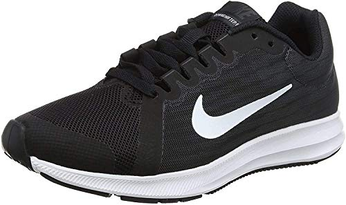 Nike Herren Downshifter 8 (Gs) Laufschuhe, Schwarz (Black/White/Anthracite 001), 40 EU