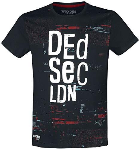 Watch Dogs: Legion - Dedsec Men's T-Shirt (m) Black