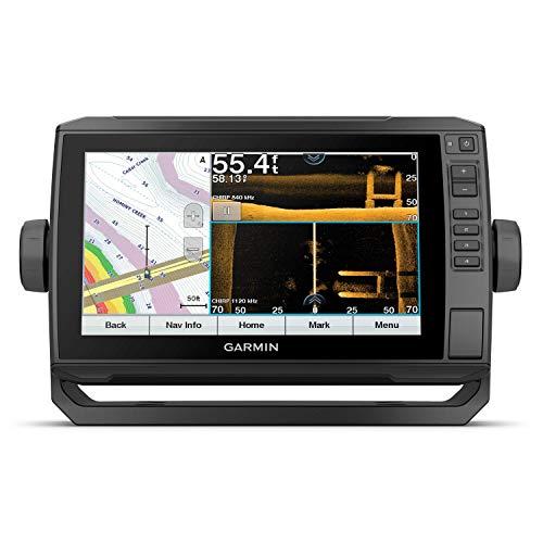 Garmin ECHOMAP UHD 93sv, 9  Keyed-Assist Touchscreen Chartplotter with U.S. LakeVü g3