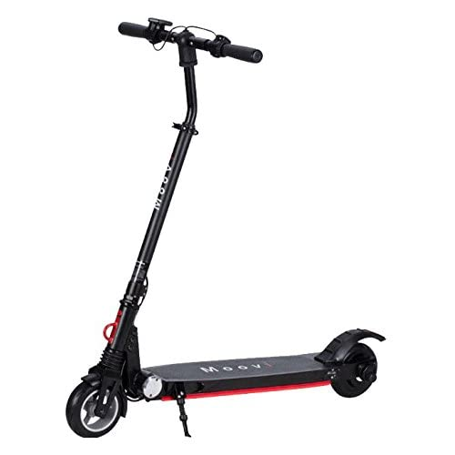 Moovi Premium E-Scooter klappbarer Elektroscooter TÜV-zertifizierter Elektroroller 20 km/h schnell 9kg leicht Cityroller