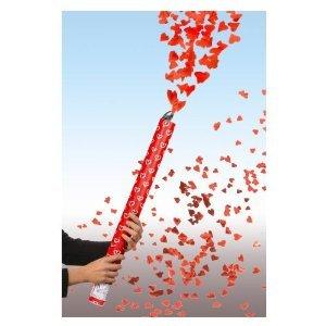 Unbekannt 2 x Shooter Kanone rote Herzen 60 cm Hochzeit Feuerwerk Fontäne