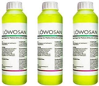 Löwosan CPAP Reiniger, Reiniger für CPAP Maske, CPAP Schlauch und Silikon - 3 x 250ml Flasche