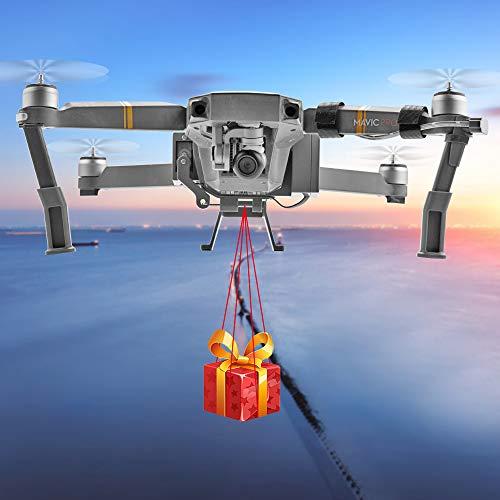 O'woda Mavic Pro Drone Clip Payload Delivery Transport Device Wedding Drone Fishing Bait Search & Rescue Compatible with Mavic Pro (Mavic pro Drone Release)