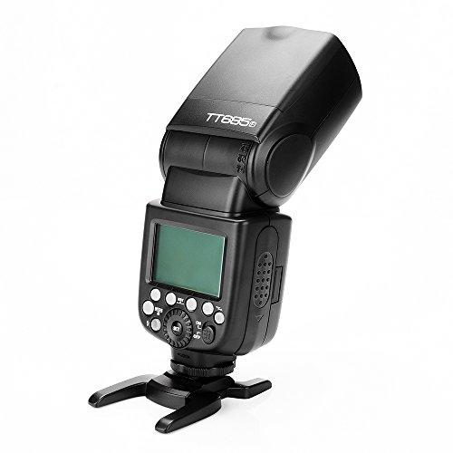 Godox TT685F 2.4G TTL Flash Speedlite for Fujifilm GN60 1/8000S HSS 0.1-2.s Recycle Time 230 Full Power Flashes 22 Steps of Power Output