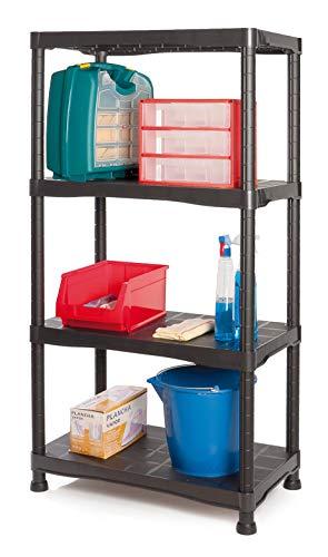 Tayg Kit estantería plástico 744, 700 x 400 x 1366 mm