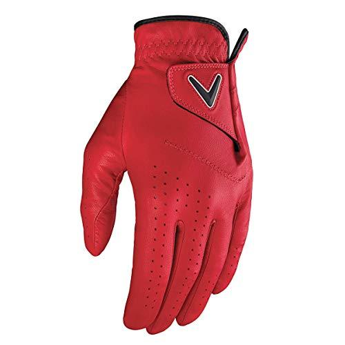 Callaway Opti-Color Golfhandschuh für Herren M rot