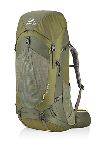 Gregory Mountain Products Stout Men's 70 Backpack , Fennel Green