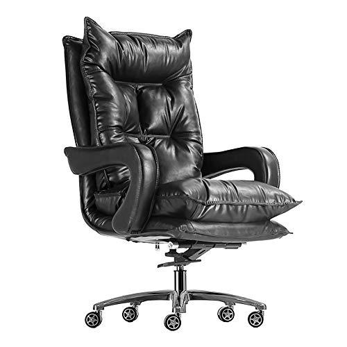 KOKOF - Juego de mesa de juegos para salón de Lazy, silla de ancla E-Sports Chair Live Sofá ergonómico, silla de ordenador de 10 barras, color negro
