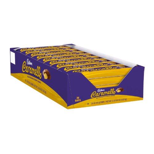 Cadbury Caramello Milk Chocolate & Creamy Caramel Candy Bar, 1.6 oz