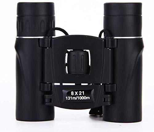 J-Love Telescopio 8X21 Binoculares Película verAlta Potencia Super Clear Black Camo Binoculares Telescopio visión Nocturna con Poca luz