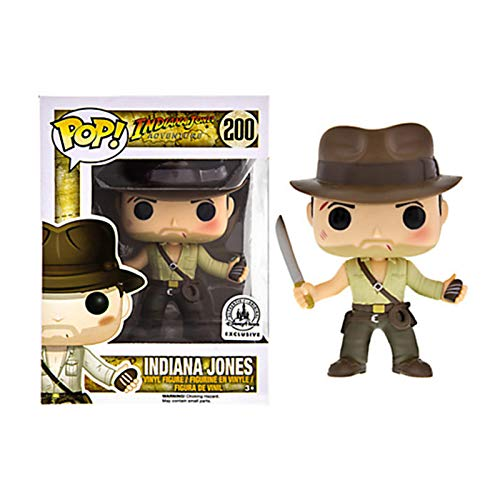 HAGENGOO Raiders of The Lost Ark: Holding a Long Knife de Indiana Jones Doll Collectible Toy, Multicolore