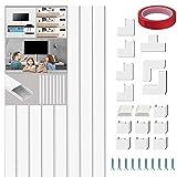 配線カバー 配線モール 電線ケーブルカバーケーブルプロテクター テープ ケーブル モール コードプロテクター 40*2.4*1.4cm×8本パック