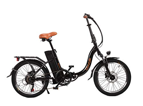 Bicicleta ELECTRICA BIWBIK Boston (Black, 12Ah)