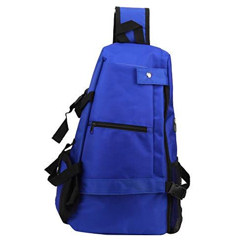 Shipenophy Bolsa de Mensajero de Fitness de diseño ergonómico y cómodo Bien diseñada, para Exteriores(Blue)