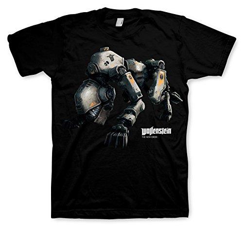 Wolfenstein T-Shirt Panzerhund Size M