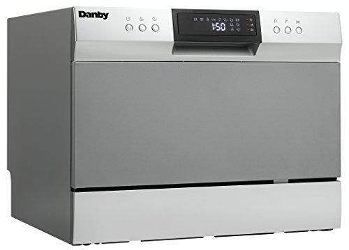 Danby DDW631SDB Countertop Dishwasher with 6 place Settings and...