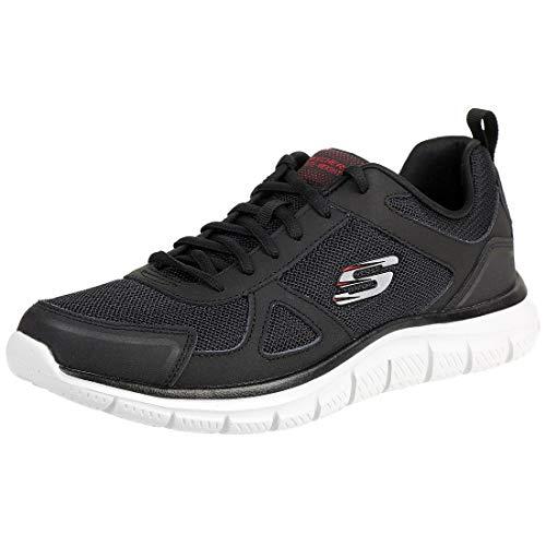 Skechers Track Scloric Herren Sneaker Sportschuhe Trainer schwarz 52631, Schuhgröße:EUR 46