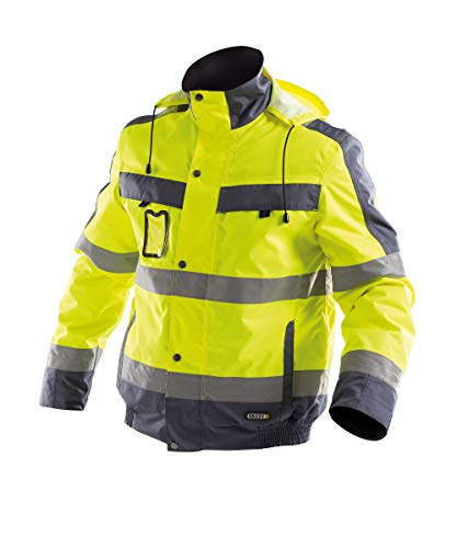 Dassy Lima 500120 Hi Visibility Jacket Yellow/Grey - XL