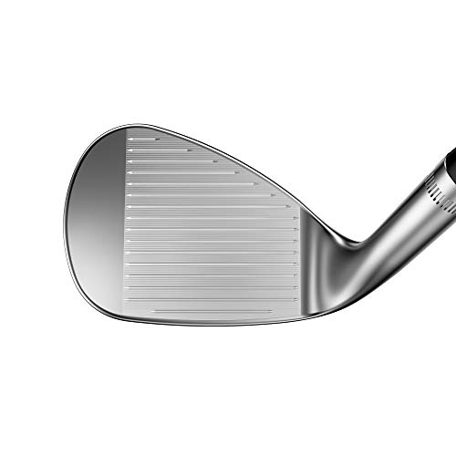 Callaway Mack Daddy 5 Jaws Wedge (Platinum Chrome, Right Hand, 50.0 degrees, W-Grind, 12 Bounce, Steel)
