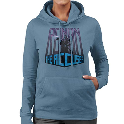 Marvel Guardians of The Galaxy Ronan The Accuser Women's Hooded Sweatshirt